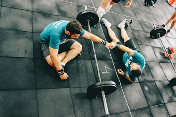 a workout buddy can help you stay motivated